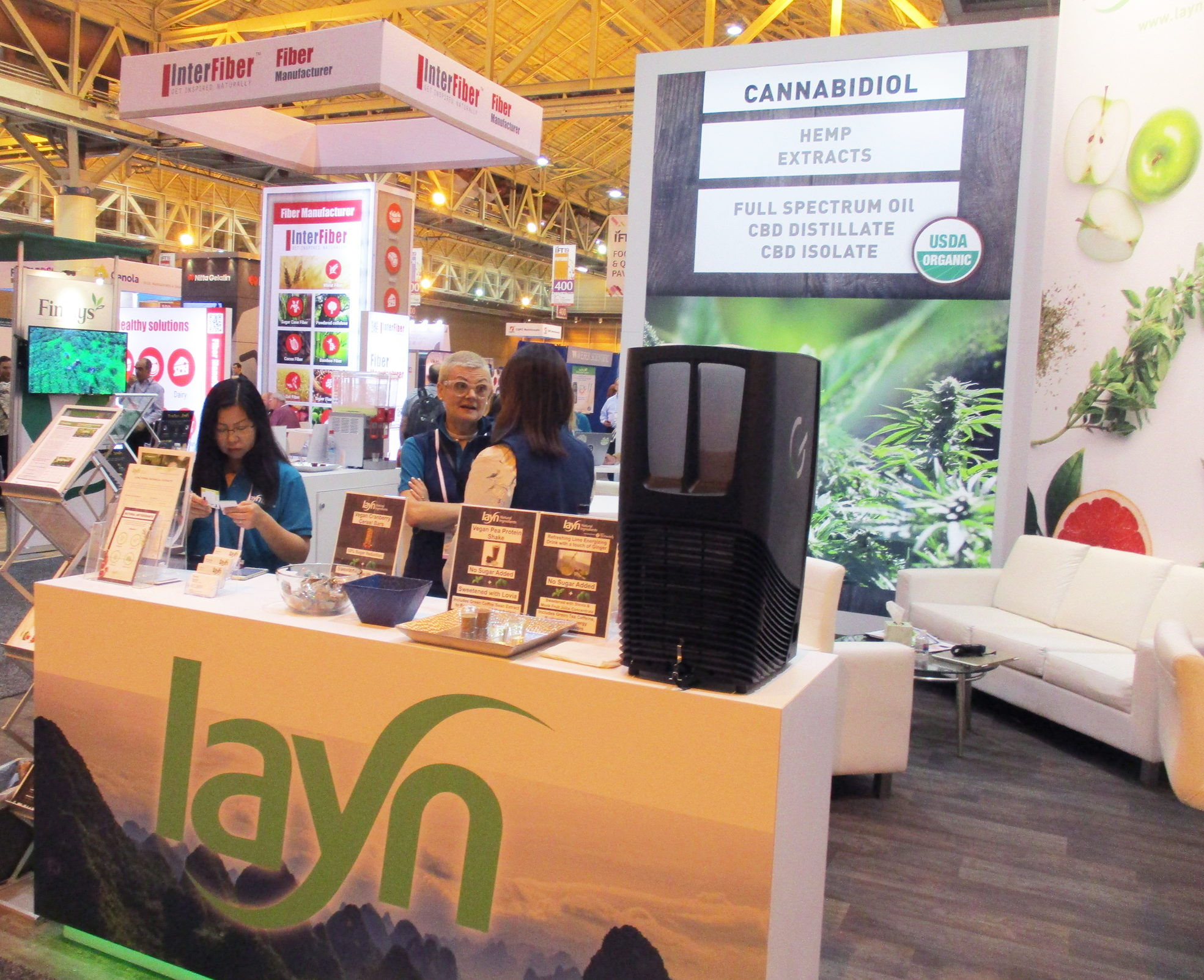 Expanding CBD applications: Layn's US$60 million processing